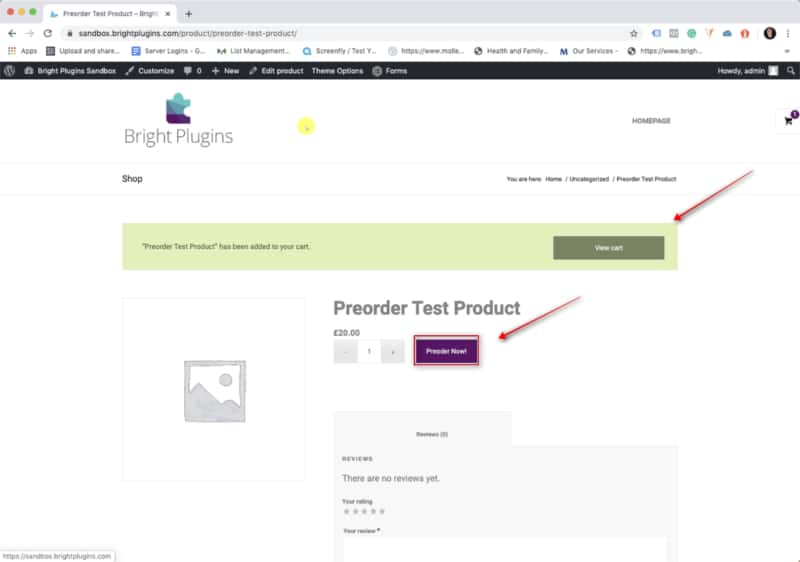 Preorders for WooCommerce - Step #14