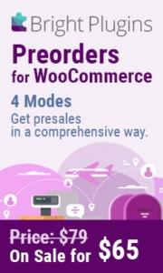 WooCommerce Preorder Plugin Sale Banner