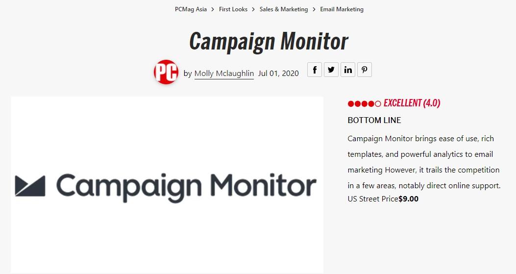 Campaign Monitor WordPress Plugin