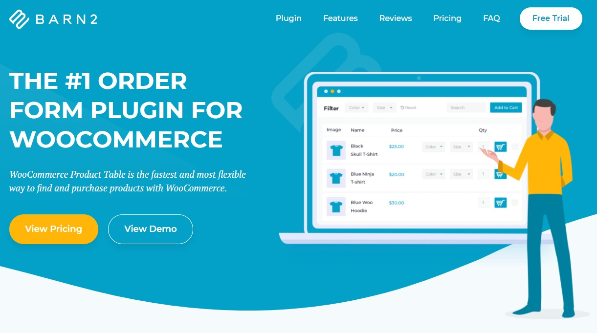 WooCommerce Product Table WordPress Plugins