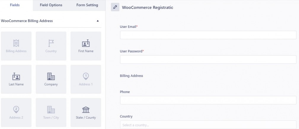Introduce Extra Fields Registration WordPress Plugin