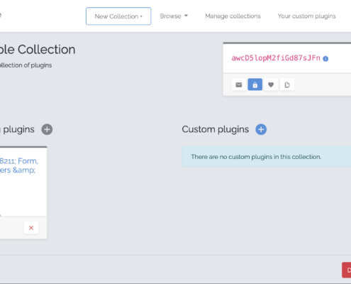 Create Your Plugin Collection