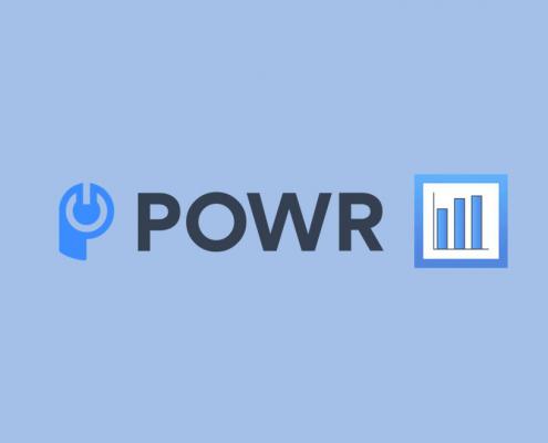 POWR graph logo